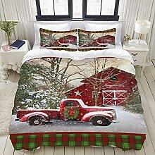 MIGAGA Collection Bettwäsche-Set,Weihnachten mit