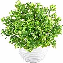 MIHOUNION 4 Bündel Künstliche Pflanzen