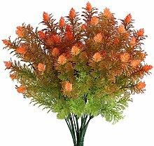 MIHOUNION Gefälschte Blumen Künstlicher Pinecone