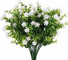 MIHOUNION HUAESIN 4 Pcs plastikblumen eukalyptus
