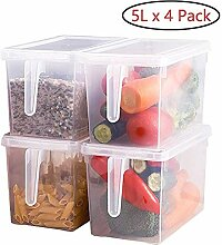 MIJOGO Aufbewahrungsbehälter für Kühlschränke