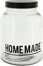MIK Funshopping Glasbehälter, Vorratsglas mit