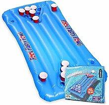 mikamax - Aufblasbarers Bier Pong - Large - Blau -
