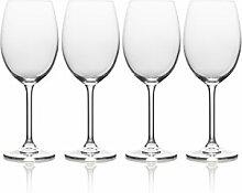 Mikasa bordeaux Iced Getränk Glas Weißes