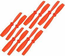 Miki&Co 5 Paar 6X 4,5-Zoll Orange 2 Schaufeln und