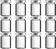 mikken 12 x Einmachglas 190 ml Vorratsglas mit
