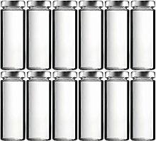 mikken 12 x Einmachglas 375 ml Vorratsglas mit