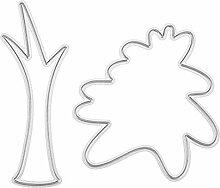 mikolot 2DIY Tree Formen Scrapbooking/Fotoalbum