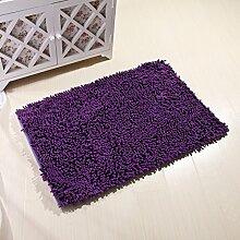 Mikrofaser Chenille Teppich/ Haushalt Tür Decke/ Erker-A 50x80cm(20x31inch)