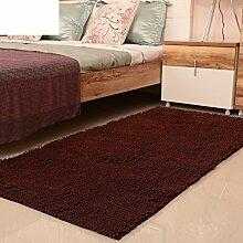 Mikrofaser Chenille Teppich/ Schlafzimmer Teppich/ Erker Decke/Badvorleger-O 80x160cm(31x63inch)