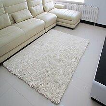 Mikrofaser Chenille Teppich/Wohnzimmer Couchtisch Wohnzimmer Erker durch den Bett-Teppich-B 140x200cm(55x79inch)