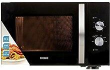 Mikrowelle Domo DO2430 30 Liter Volumen schwarz