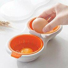 Mikrowelle Doppelschicht Eierkocher/Steamer Mit