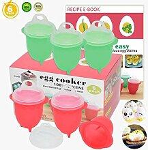 Mikrowelle Ei cooker-silicone Hart und Weich Ei