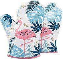 Mikrowelle Handschuhe Flamingo Handschuhe