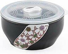 Mikrowelle Keramik Schüssel mit Belüftete Deckel