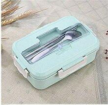 Mikrowelle Lunch Box Weizenstroh Essgeschirr Food