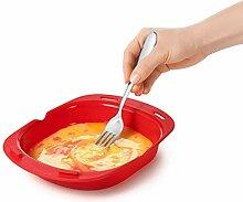 Mikrowelle Omelet RotOmelette 3 Egg Omlette