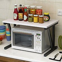Mikrowelle Rack Doppelschicht Home Kitchen Regale