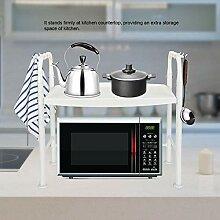 Mikrowelle Regal, 2 Schichten Küchenregal