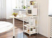Mikrowellen-Rack-Regal / Regale / Küchenregale: einfacher moderner Stil ( Farbe : Beige )
