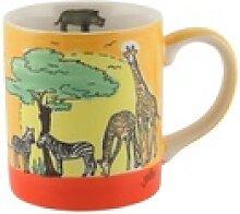 Mila Becher Mila Keramik-Becher Afrika, MI-80211,