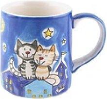 Mila Becher Mila Keramik-Becher NachtKatzen,