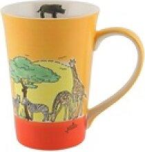 Mila Becher Mila Keramik-Teebecher Afrika, Keramik