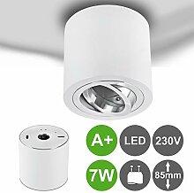 MILAN-L LED Aufbaustrahler Aufbauleuchte 7,5W