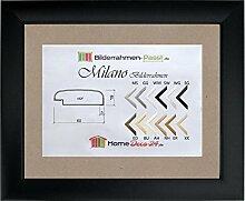 Milano MDF-Bilderrahmen 70x100 Schwarz matt 100x70