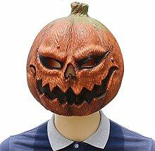 MILAYA JI Bin Shop® Halloween Kürbis Kopf Maske