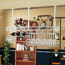 MILAYA JI Bin Shop® Wand-Weinregal Flaschenhalter