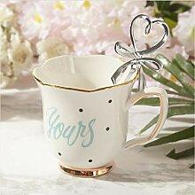 Milch Tasse Milch Tasse Handbemalte Goldene