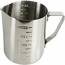 Milchkännchen, 550 ml Handheld Edelstahl