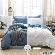 MILDLY Bettwäsche-Set, 100 % gewaschene