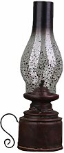 Milisten Dekorative Petroleumlampe Antike Laternen