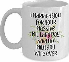 Militär Geschenke, Kaffeetasse, Teetasse, lustige