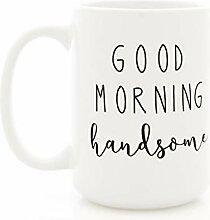 Milk Honey Good Morning Handsome Tasse