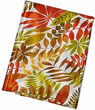 millya Floral Print Patchwork Craft Tropische Blätter Satin Stoff Bundle für Schneidern, Hochzeit Ball, Tischdecke, Tischläufer, grün, Grün