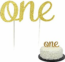 "Milopon Cupcake Topper ""One"" Kuchen"
