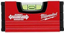 MILWAUKEE Wasserwaage Mini 10 cm (Minibox Level)