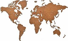MiMi Innovations - Weltkarte Wand - Hochwertig