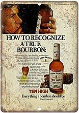 MiMiTee Hiram Walker's Ten High Bourbon