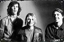 MiMiTee Nirvana Blechschild Vintage Metall