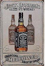 MiMiTee Whiskey Blechschild Vintage Metall