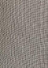 MinaWum Baumwollstoff Coupon EDITH G0H Minikaro schwarz / beige, 200cm x 150cm brei