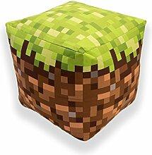 Minecraft Bj Cube Shaped Kissen Kissen Sitzsack,