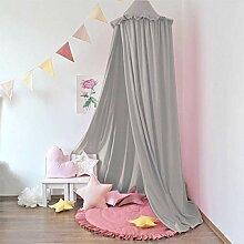 Minetom Baby Baldachin Betthimmel für Kinder Bett
