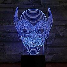 mingyimingshangmao 3D Licht Lampe Halloween