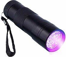 Mini 9LED UV-Taschenlampe